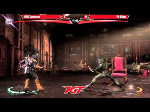 Injustice @ KIT15 - G4S Cossner (Green Arrow) vs ATL Clint (Lex/Deathstroke) [720p/60fps]