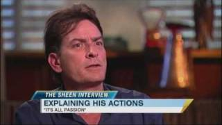 Exclusive: Charlie Sheen Says He