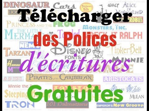 Top Comment telecharger et installer une police d'écriture (Font ou  LN97