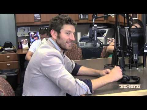 Brett Eldredge Enjoyed Kissing the Girl in 'Beat of the Music' Video