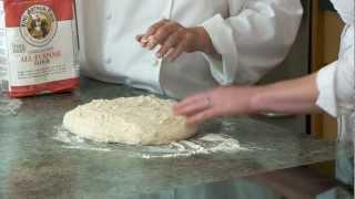 Sourdough bread: making the dough