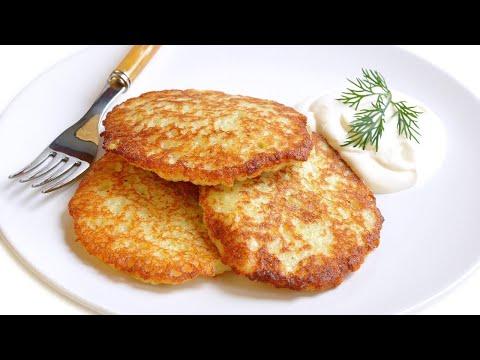 Драники (картофельные оладьи) как приготовить драники простой пошаговый видео рецепт