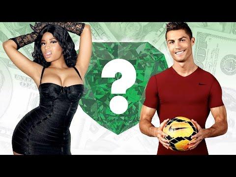 WHO'S RICHER? - Nicki Minaj or Cristiano Ronaldo? - Net Worth Revealed!