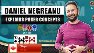 POKER CONCEPTS in Action: Ranges, Bluffs, Bubble Play and getting All In