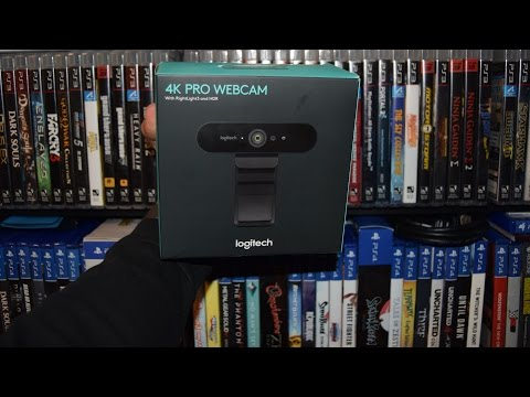 Unboxing Logitech BRIO 4K Webcam / Quality Test (C920 / DSLR Comparison)