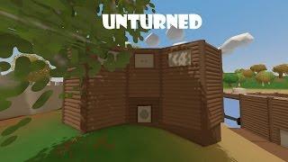 Como hacer Una Casa Segura En Unturned (by orli_l57)