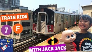 Johny's MTA Train Ride To Time Square With Jack Jack Gone Wrong