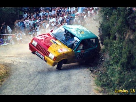 Ronde Cévenole 1995 Crash and