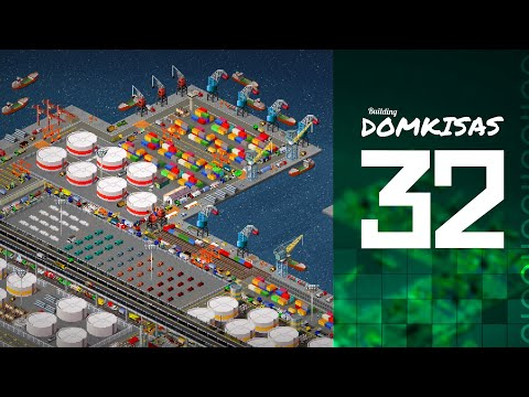 TheoTown: Building Domkisas -[ 32 ]- Industrial Harbor