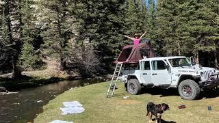 Jeep Gladiator - Rİo Costilla Camping iKamper RTT - Taos, New Mexico