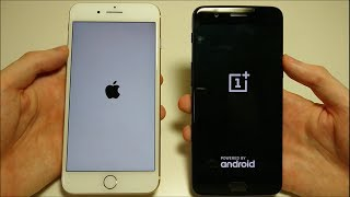 ONEPLUS 5 VS APPLE IPHONE 7 PLUS SPEED TEST!