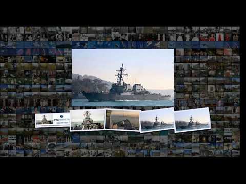 Американский эсминец вновь зашел в Черное море