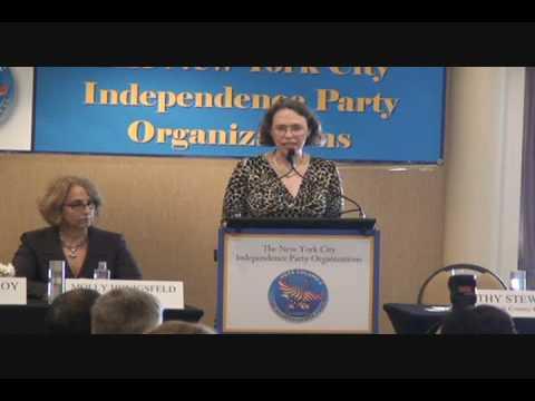 Cathy Stewart Opens IP Meeting