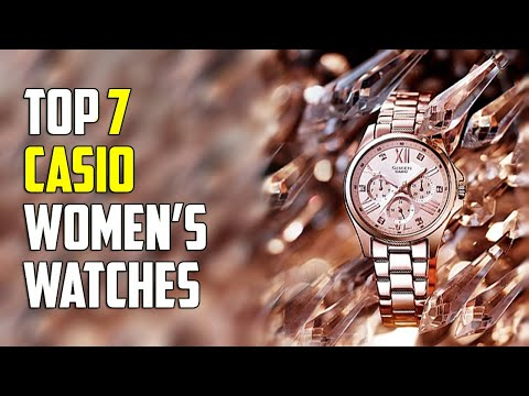 Top 7 Best Casio Watches For Women | Watches For Women 2020