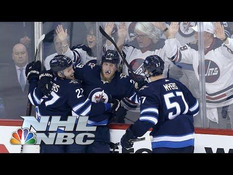 Minnesota Wild vs. Winnipeg Jets I Stanley Cup Playoffs I Game 1 Highlights I NBC Sports