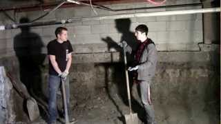 2013 Basement dig out part 1