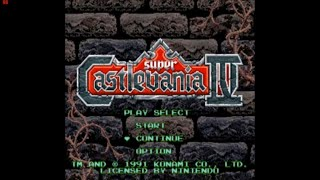 Let's Play Super Castlevania IV (with commentary) Part 1