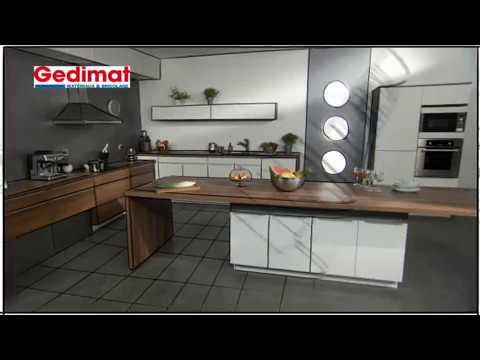 monter une cuisine quip e gedimat ma maison s 39 agrandit se r nove saison 2 youtube. Black Bedroom Furniture Sets. Home Design Ideas