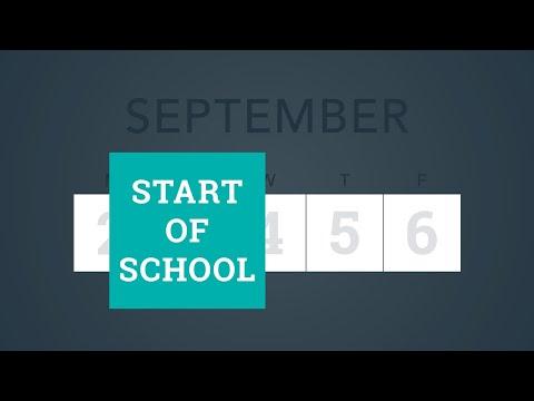 School Calendar To Start In September, Add Days For Teaching & Learning