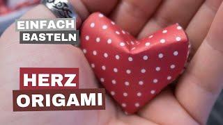 ORIGAMI ❤︎ Herz zum Valentinstag in 3D