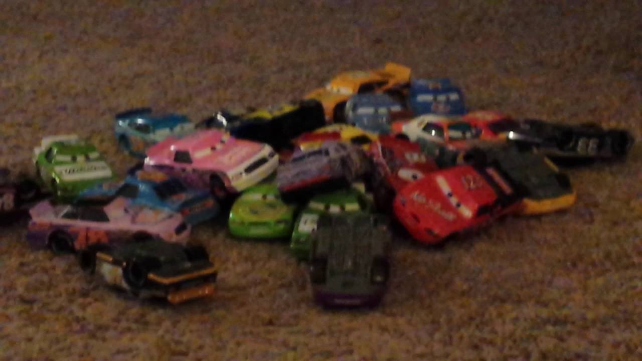 Disney Cars Motor Speedway Of The South Part 1 Youtube