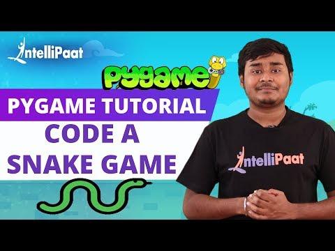 Pygame Tutorial   Python Pygame   Intellipaat thumbnail