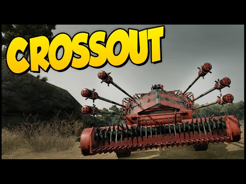 Crossout ➤ Explosive Spears, Harvester, Thunderbolt Buggy Build! - Funny Moments [Crossout Gameplay]