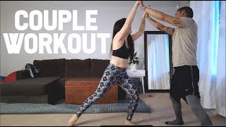 Our New Couple Workout and Reunion with Salty Blog   Family Vlog   April's Beautiful Mess