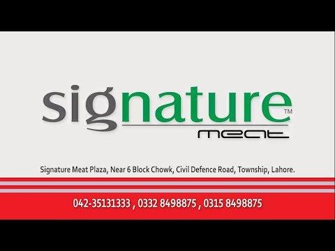 Signature Meat