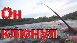 ОН хотел выбить спиннинг из рук ловля окуня и голавля летом рыбалка 2021