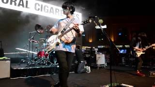 Japanese rock act The Oral Cigarettes performing at the Japan Night...
