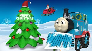 Thomas Chirstmas Train - Choo Choo Train - Toy Train - Toy Factory - Videos for Kids - Cartoon Train