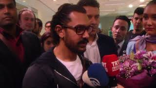 Indian film star arrives Istanbul to promote his movie in Turkey