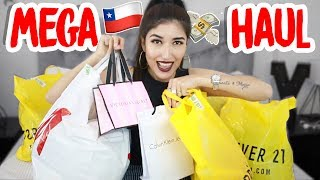 MEGA HAUL COMPRAS EN CHILE ! Victoria´s secret, forever21, HM, calvin klein