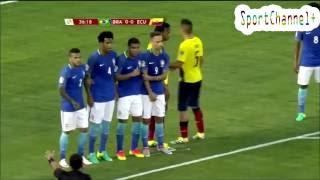 обзор Матча Бразилия  Эквадор 0 0   Match Review Brazil  Ecuador 0 0