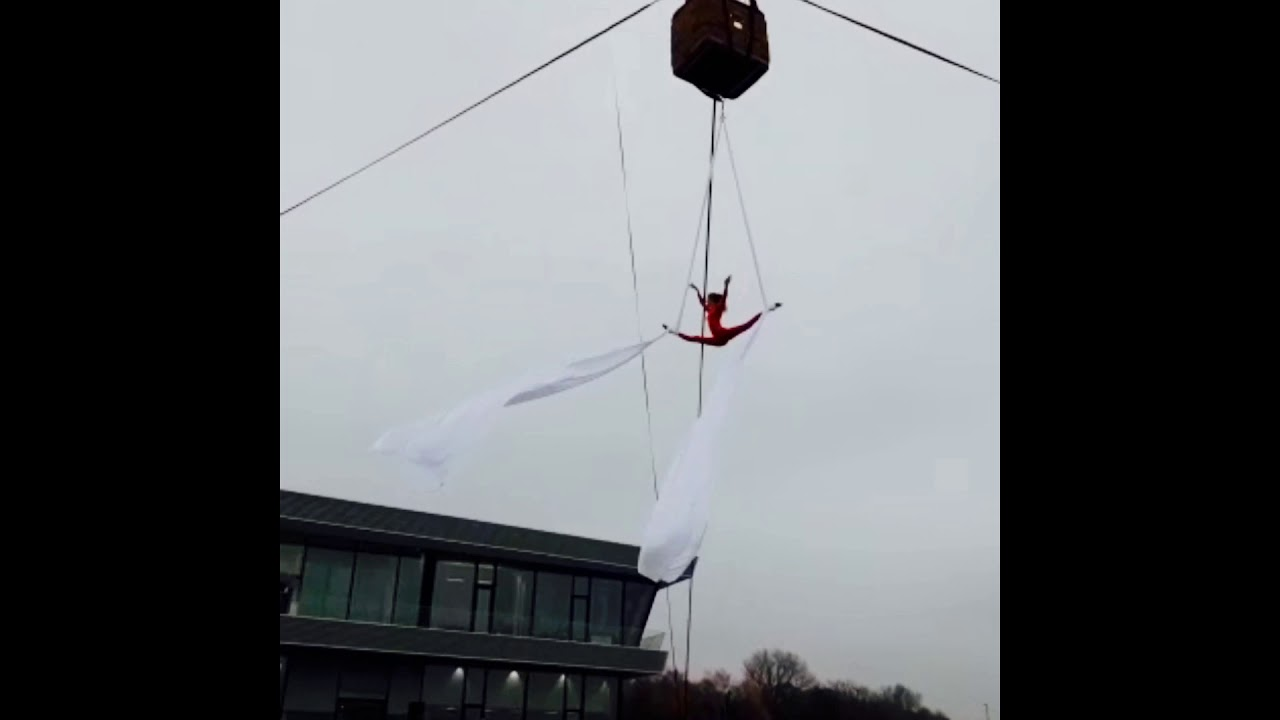 Vertikaltuch Ballon Celestial Arts