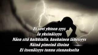 Raappana - Yksinäistä (lyrics)