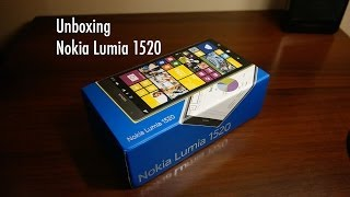 Unboxing Nokia Lumia 1520 32GB, Initial Impressions and Initial Setup / Configuration
