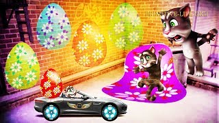 Talking Tom And Friends | Tomcat 's Video Funny Animals 2018 Episode 9 - Primitive Life Digi