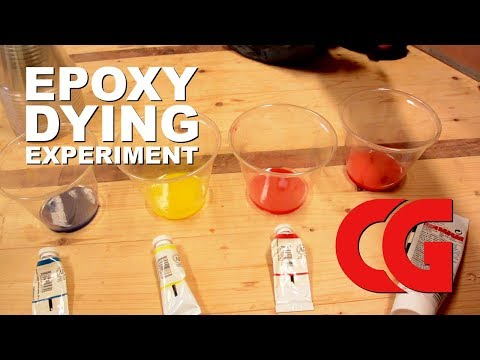 Can You Dye Epoxy with Artist's Paints?