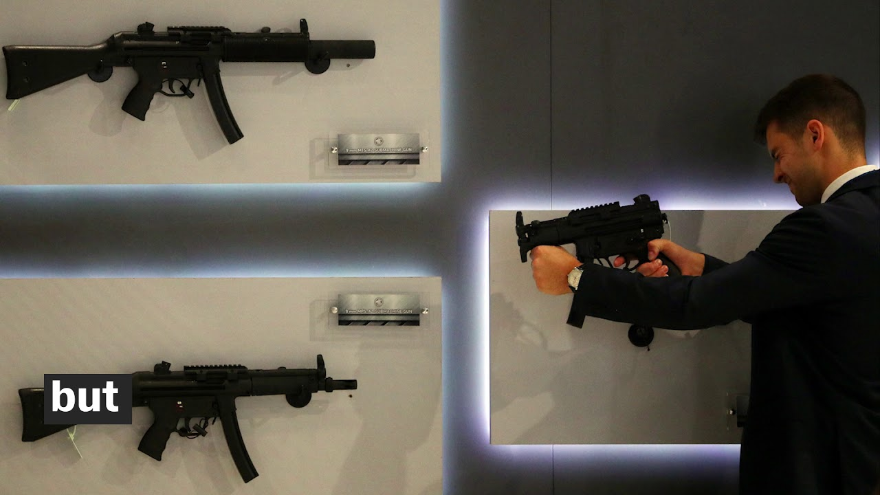 Can you legally own a machine gun in America? - YouTube