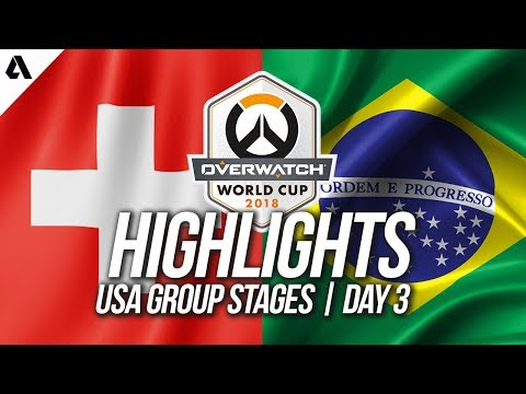 Brazil vs Switzerland | Overwatch World Cup 2018 Los Angeles Qualifier Day 3 thumbnail