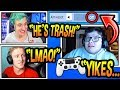 Download Ninja & Tfue SHOCKED After Seeing GHOST AYDAN Play With Aim Assist *TURNED OFF!* (EMBARRASSING!)