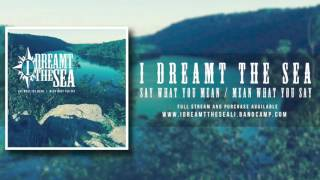 "I Dreamt the Sea- ""Solace"""