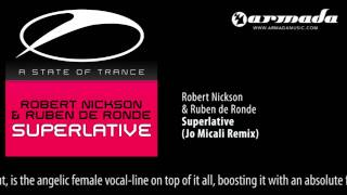 Robert Nickson & Ruben de Ronde - Superlative (Jo Micali Remix)