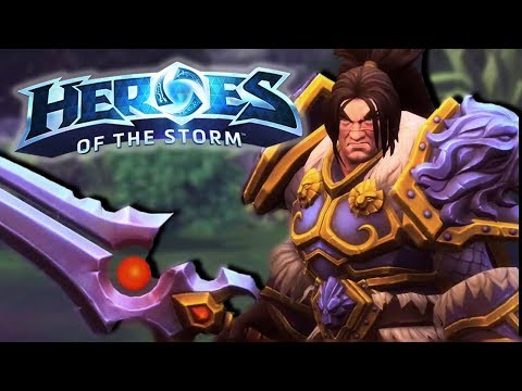 Heroes of the Storm (HotS)   SHIELDING MY FRIENDS   Varian Gameplay ft. Sinvicta