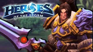 Heroes of the Storm (HotS) | SHIELDING MY FRIENDS | Varian Gameplay ft. Sinvicta
