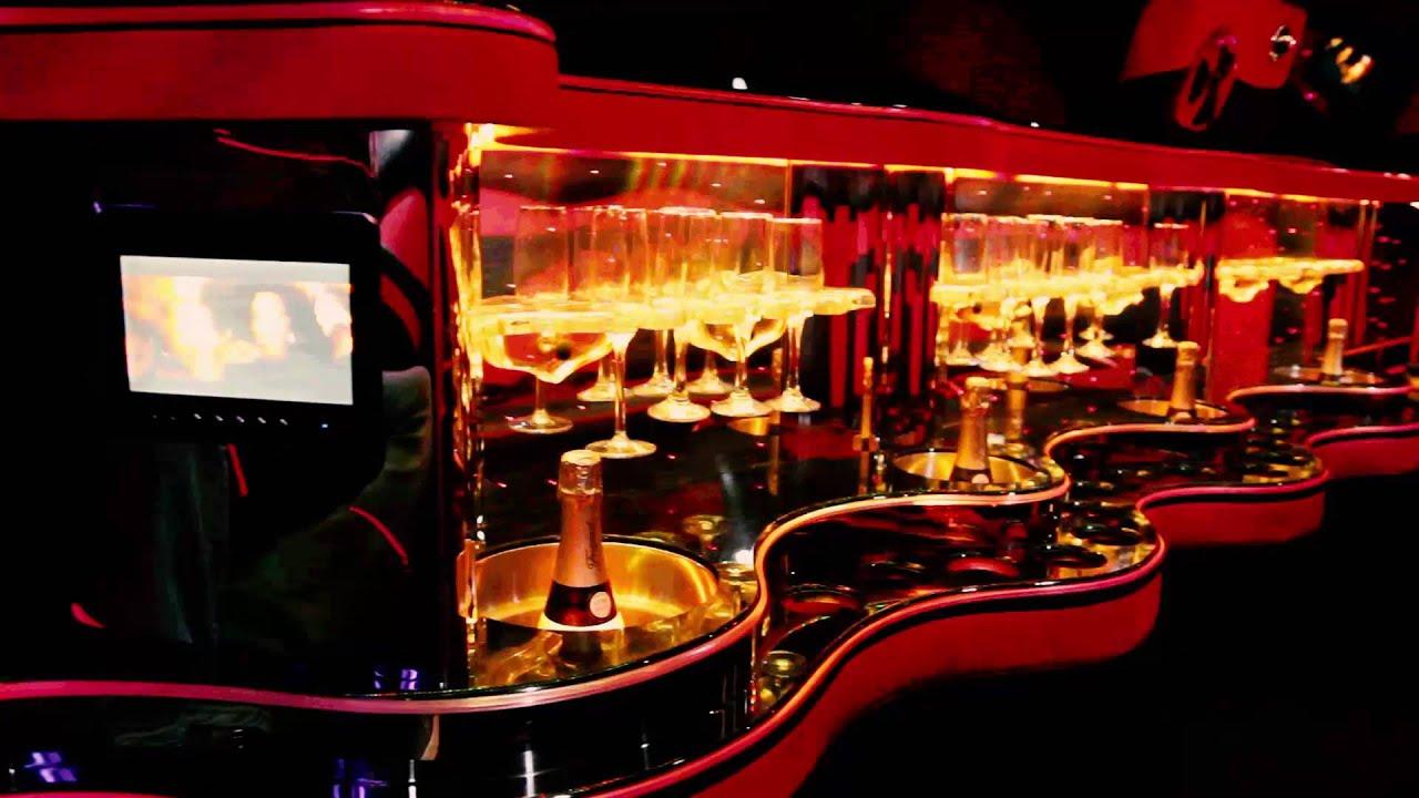 Hummer limousine inside