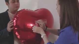 видео Фольгированные шары буквы с доставкой в Москве