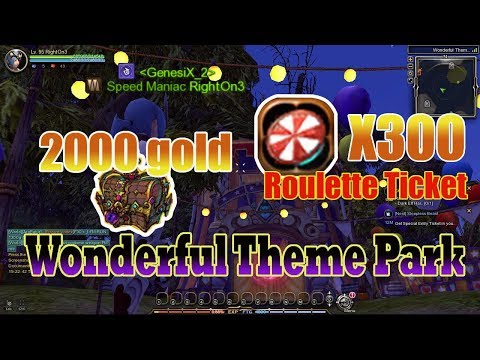 Gold Farming In Wonderful Theme Park !Are You Serious?( Ways In Getting Gold) Dragon Nest Sea |